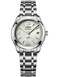 Rotary Damen - Armbanduhr Legacy Analog Quarz LB90173/06
