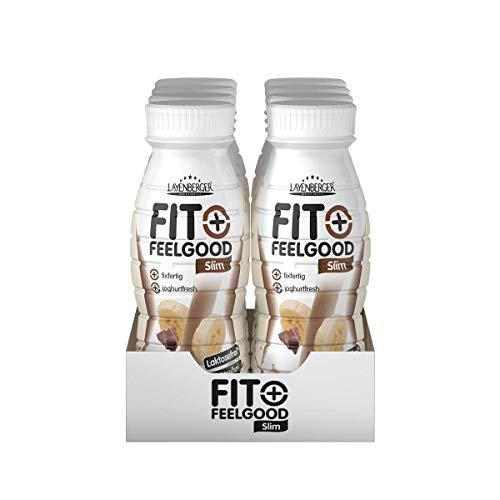 Layenberger Fit+ Feelgood Diät-Shake fixfertig Schoko-Banane, 8er Pack (8 x 312 ml)
