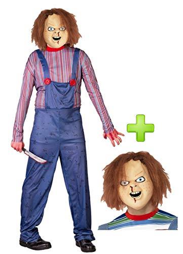 Disfraz de Muñeco con mascara de Chucky