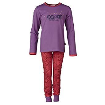 LEGO Wear Pyjama  Manches longues Fille - Violet - Violett (634 PURPLE) - FR : 5 ans (Taille fabricant : 110)