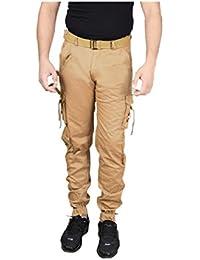 Krystle Slim Fit Cotton Cargo Pant