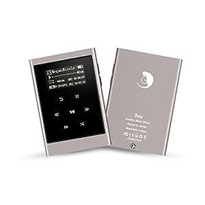 AGPTek IMP metal Hi-Fi MP3 Lettore musicale portatile ad alta risoluzione 16 GB con 1,3 pollici OLED schermo