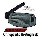 ADDMAX Orthopedic Electric Heating Waist Belt Wrap-Lumbar Support Back Brace Belt,Lower Back Heat