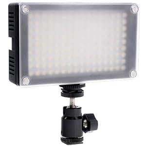LED Videoleuchte Quenox Prolux 145 Bicolor dimmbar ca. 2300 Lux