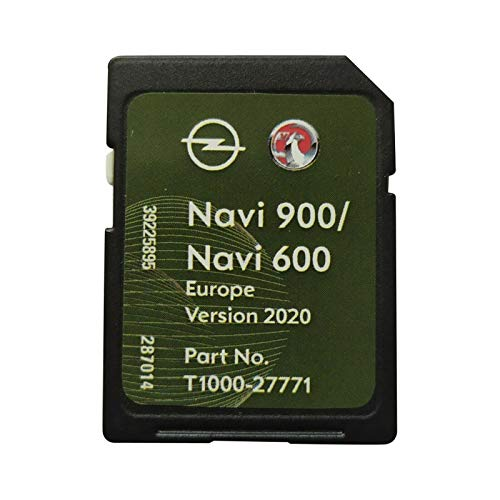 SD Karte GPS Opel NAVI600 NAVI900 Europe 2019/2020 - T1000-27771