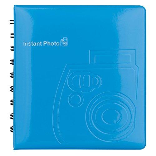 Instax Photo Fujifilm Album (Fujifilm 70100118320 Instax Mini Fotoalbum blau)