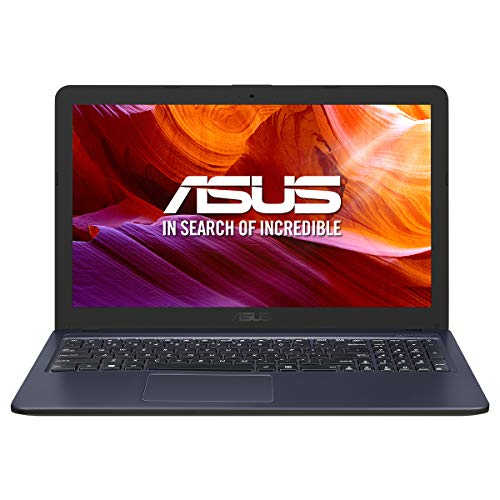 ASUS K543UA-GQ2698 - Portátil de 15,6' HD (i3-7020U, 8GB RAM, 512GB SDD, Endless OS (inglés)) Gris Estrella - Teclado QWERTY Español