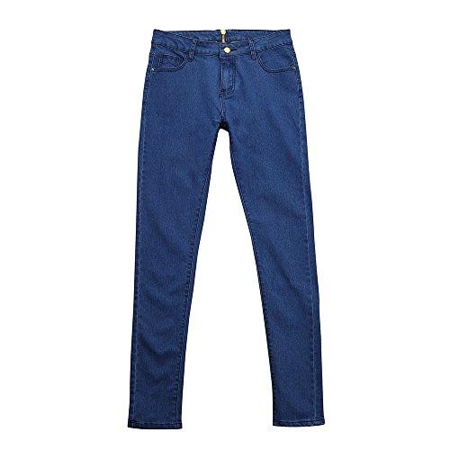 Femmes Lagenlook Froid Couper l'épaule Baggy surdimensionné Cou ras du cou Top blouse emmes Pantalon Jeans en Dentelle Vintage Slim Trous Crayon Collants Pants Dentelle Jeans
