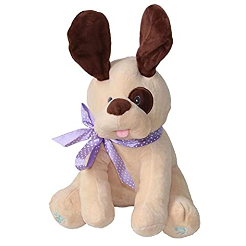 The Puppy Will Sing, Toamen Dog Baby Soft Plush Toy