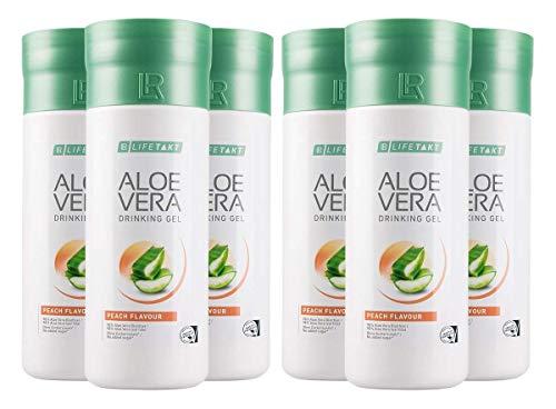 LR, 6er-Set Aloe Vera Drinking Gel Peach
