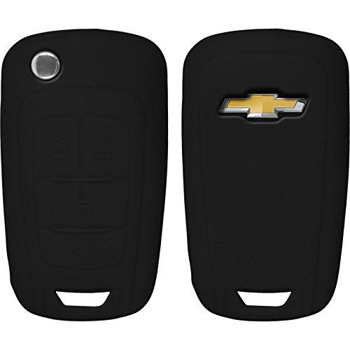 phonenatic-coque-en-silicone-cle-auto-noir-pour-telecommande-chevrolet-malibu-4-touches-cle-articule
