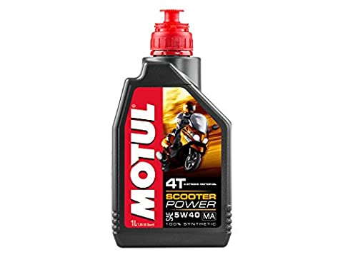 MOTUL - 714.02.60 - 105958 - OEL MOT 5W40 4T 1L SYN SCOOTER POWER - Literpreis 15,86 € -