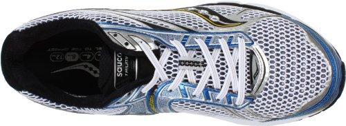 SAUCONY Power Grid Triumph 9 Scarpa da Running Uomo Bianco/Nero/Blu