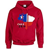 Chile 2014 Country Flag Hoody (red)