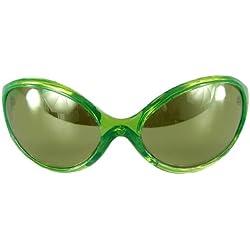 Fugarse - S45204 - Disfraz - Accesorios - Gafas de sol - Alien