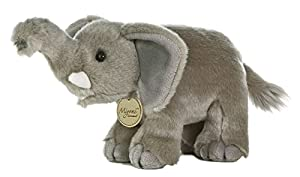 "Aurora World 10852 Miyoni Elephant - Figura Decorativa (11""), Color Gris"