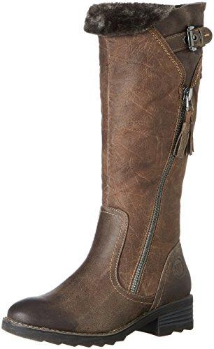 MARCO TOZZI Damen 26639 Stiefel, Braun (Mud Ant.Comb), 39 EU