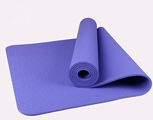 Yoga Matte weichem rutschfestem stark Catch für Fitness Übung TPE Material 183* 61cm/Stärke 6mm