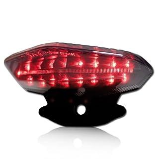Motorrad LED Rücklicht Ducati Hypermotard 796 Bj.10-12, 1100 / EVO Bj.07-12, Reflektor schw., get., E-gepr.
