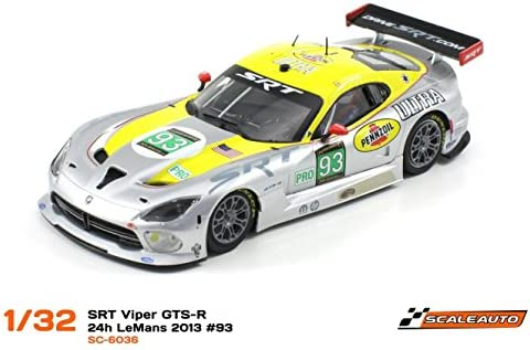 Scaleauto SC-6036R Dodge Dodge Dodge Viper SRT GTS-R 24h LeMans 2013 n.93 SRT Motorsport Team Viper -R- Anglewinder | Fiable Réputation