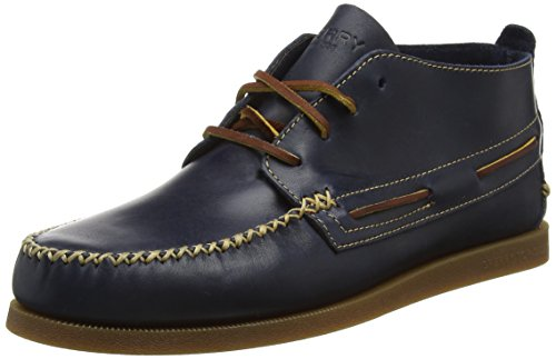 Sperry Top-Sider A/O Wedge, Stivali Chukka Uomo, Blu (Navy), 43 EU