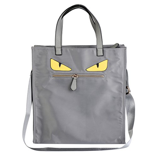 Damara-Womens-Stylish-Two-Eyes-Patterned-Weekend-Travelling-Tote