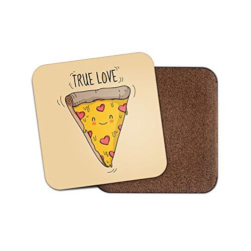 Lustiger Untersetzer für Pizza Lover - Junk Food Teen Daughter Sister Cool Witz Geschenk #14697