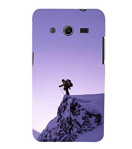 Skiing 3D Hard Polycarbonate Designer Back Case Cover for Samsung Galaxy Core 2 G355H :: Samsung Galaxy Core II :: Samsung Galaxy Core 2 Dual  available at amazon for Rs.539