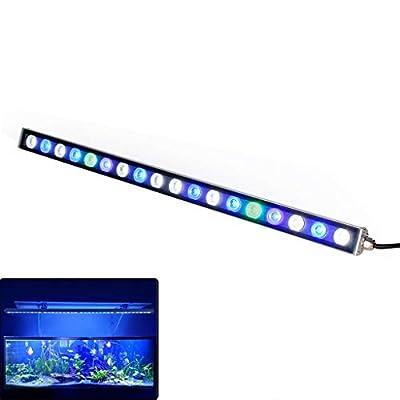 Danm LED de Haute qualité Haute Puissance Lampe Aquarium, Lampe Aquarium - Lampe Corail, IP65 étanche, Haute économie d'énergie de la Lampe, Longue durée de Vie