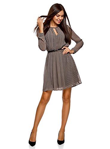 oodji Collection Damen Kleid aus...