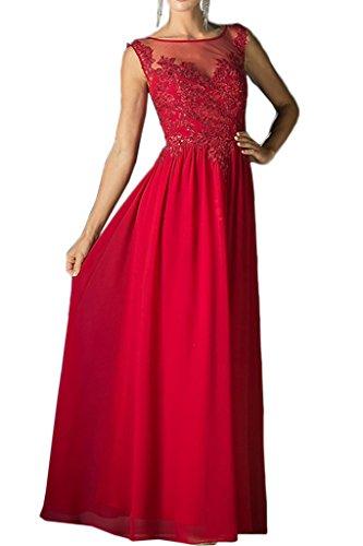 ivyd ressing Femme Exquisite traîne Satin Pierres Lave-vaisselle robe longue Prom robe robe du soir Rouge
