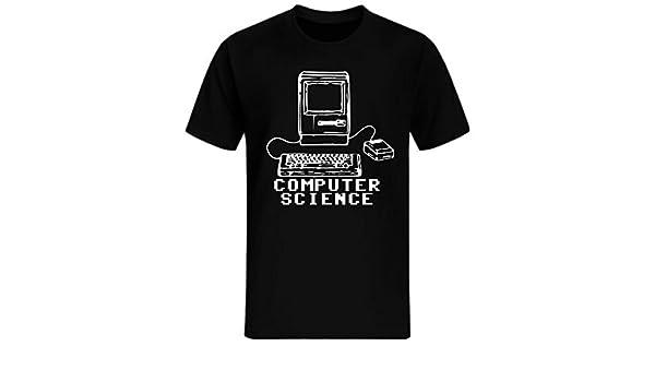 Computer Science T Shirt Pc Nerd Gamer Zocker Shooter Fun Shirt