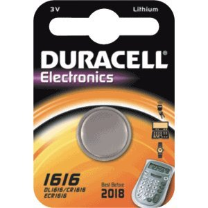 Duracell CR1616 Knopfzelle 3Volt