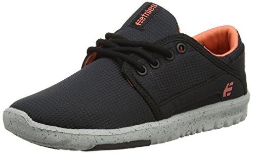 Etnies Scout Ws, Chaussures de Skateboard Femme Noir (Black/grey)