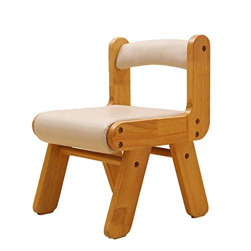 Golden_flower Stuhlhocker Lounge Stühle Kleine Stühle Hocker Holz Lernstühle Home Holzstühle Kind Schreibstühle, a