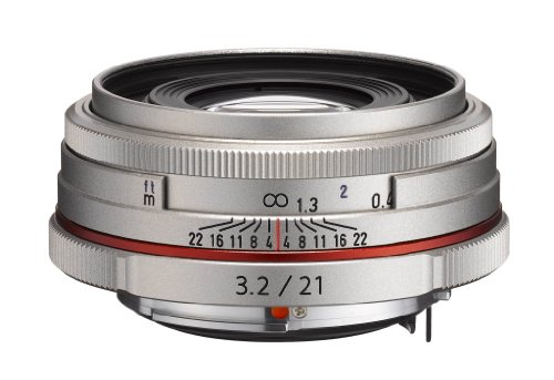 Best Price Pentax HD DA Limited 21mm F3.2 AL Lens – Silver Discount