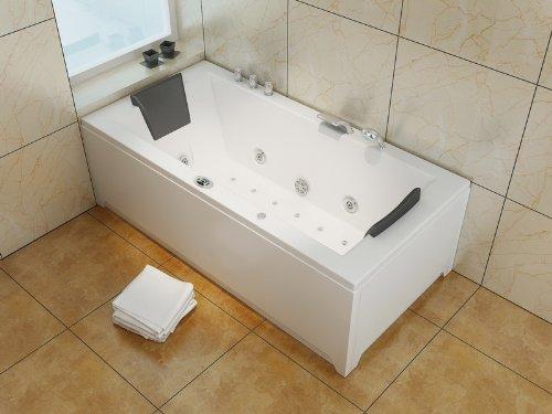 Luxus Whirlpool Badewanne 182x90 im Vollausstattung (Massage) - Sonderaktion - 2