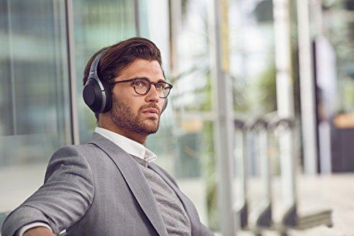 Sony WH1000XM2 - Auriculares de Diadema inalámbricos (Hi-Res Audio, cancelación de Ruido, Sense Engine, Bluetooth, Compatible con aplicación Headphones Connect, 30 Horas de autonomía) Negro