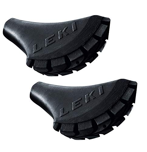 Leki - Puntas goma bastones senderismo 2 unidades