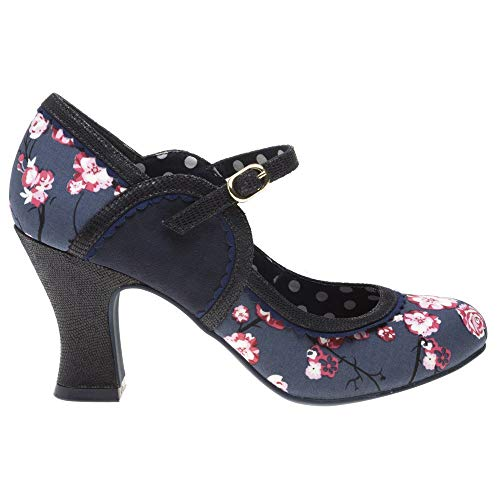 Ruby Shoo Rosalind Damen Schuhe Navy - 2