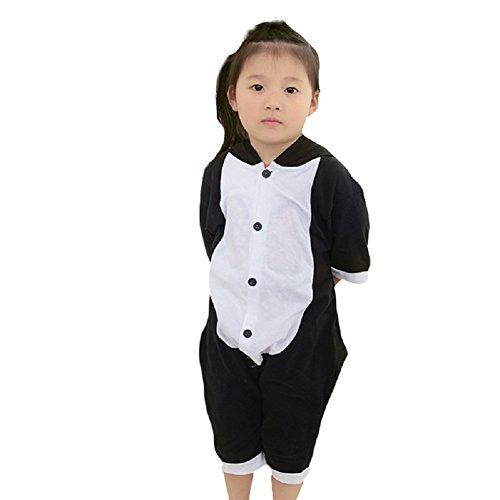 Darkcom maiale nero pagliaccetto unisex pigiama homewear felpa con cappuccio pagliaccetto estivo manica corta da uomo - piccolo