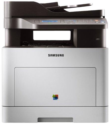 Samsung CLX 6260 FD Farblaser-Multifunktionsgerät (Drucken, Scannen, Kopieren, Faxen, 9.600 x 600 dpi, integrierte Duplexeinheit und Gigabit-LAN) Fedora-pin