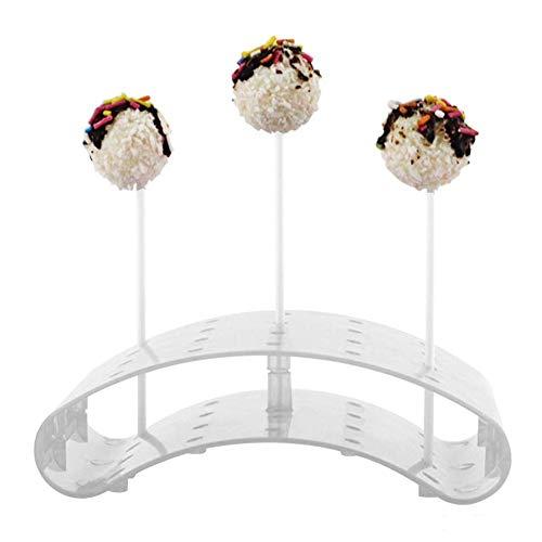 LINKLANK Kuchen Pop Ständer, 20 Löcher Kuchen Pop Lutscher Ständer Display Halter Basen Regal DIY Backen Werkzeug Kuchen Pop Lutscher Ständer/Display/Hodler/Basen/Regal Bogen