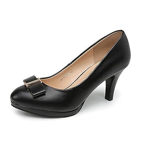 ladies high heels,lumière met le pied chaussures-A Longueur du pied=23.3CM(9.2Inch)