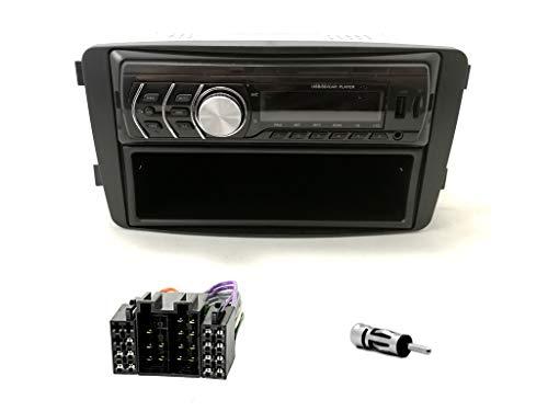 R1-010-101-6 Autoradio Bluetooth USB Radioblende Adapter für C-klasse W203CLK W209 G-klasse W463 Viano W639 Vito
