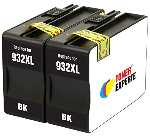 Schwarz Druckerpatronen Ersatz für HP 932 932XL CN053AE kompatibel für HP Officejet 6100 6600 6700 7110 7510 7600 7610 7612 7620 | hohe Kapazität ()