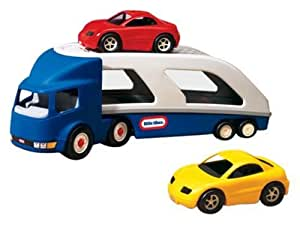 Little Tikes - 170430 - Véhicule Miniature - Car Carrier - 4 Pack