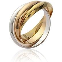 ISADY - Sofia Gold - Bague femme - Plaqué Or 750 000 (18 carats 15e769b39420
