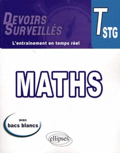Mathématiques Tle STG