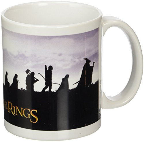 The Lord Of The Rings MG23424 (Fellowship) Mug, Céramique, Multicolore, 11oz/315ml